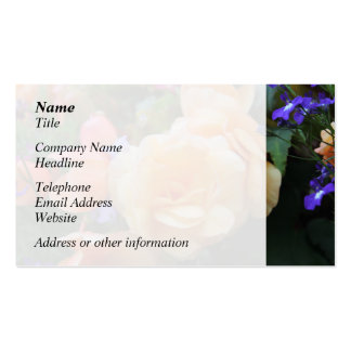 Pretty Flowers. Business Cards