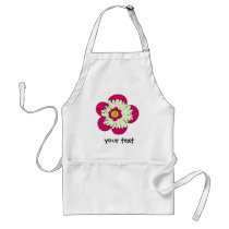 Pretty Flowers for Mom Adult Apron