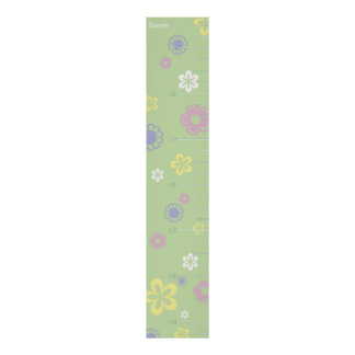 Pretty Flowers Growth Chart