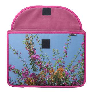 """Pretty Flowers in my Backyard"" MacBook Sleeve"
