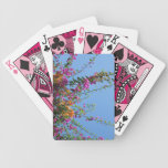 """Pretty Flowers in my Backyard"" Playing Cards"