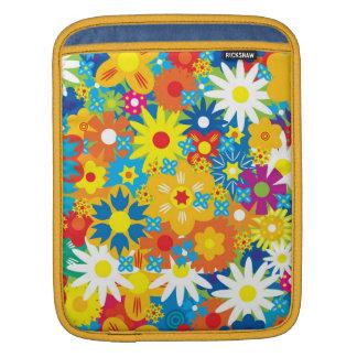 Pretty Flowers iPad Rickshaw Sleeve Sleeve For iPads