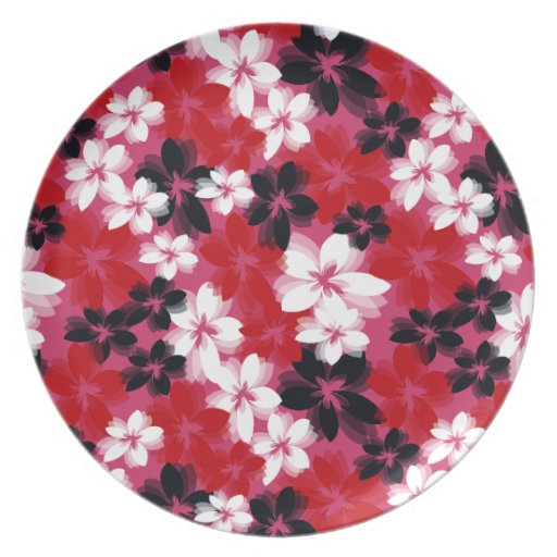 Pretty Flowers Party Plates