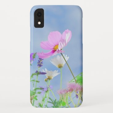Pretty Flowers Photo iPhone XR Case