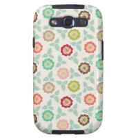 Pretty Flowers Samsung Galaxy S3 Case