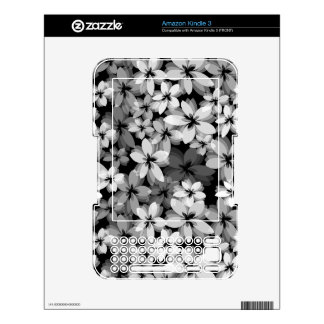 Pretty Flowers Decals For The Kindle