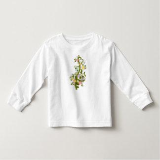 Pretty Flowers Vine of Many Colors Tee Shirt