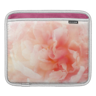 Pretty Fluffy Pink Peony Sleeve For iPads