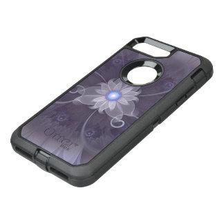 Pretty Fractal Triskelion Purple Passion Flower OtterBox Defender iPhone 7 Plus Case