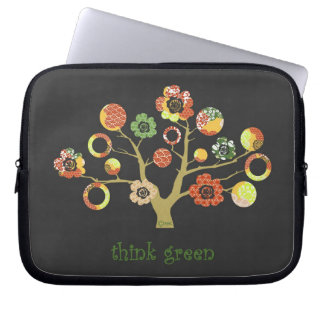 pretty funky Japanese spring blossoms bonsai tree Laptop Sleeve