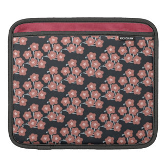pretty funky pink japanese cherry blossoms pattern sleeve for iPads