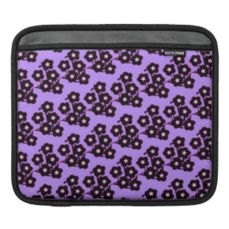 pretty funky purple japanese cherry blossoms sleeve for iPads