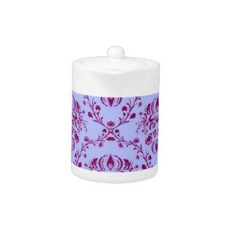 Pretty funky purple vintage Art Nouveau pattern