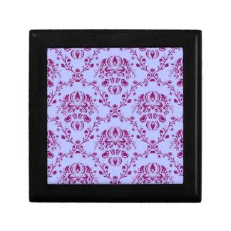 Pretty funky purple vintage Art Nouveau pattern Gift Boxes