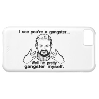 Pretty Gangster Myself Case For iPhone 5C