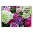 Pretty Garden Flower Bouquet Happy Mother's Day Card