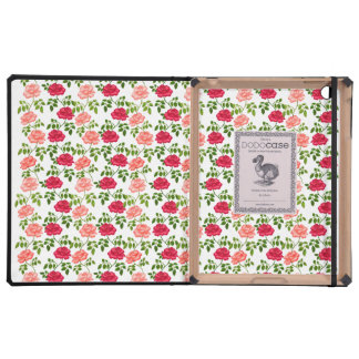 Pretty Garden Tea Roses iPad DODOcase Cover For iPad