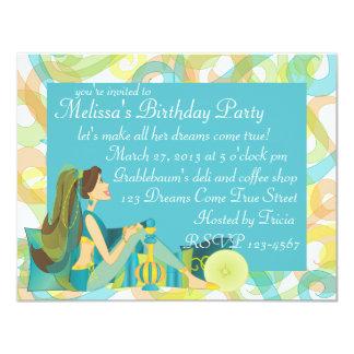 Pretty Genie Card