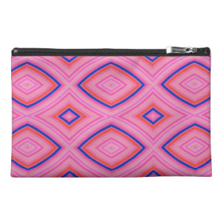 Pretty Geometric in Mostly Pink Travel Accessories Bags