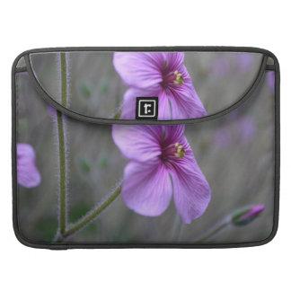 Pretty Geranium Sleeve For MacBook Pro