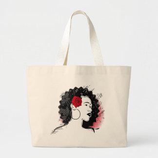 Pretty Girl Jumbo Tote Bag