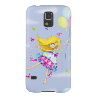 Pretty Girl Balloon Fairy Flight of Fancy Gifts Galaxy S5 Case