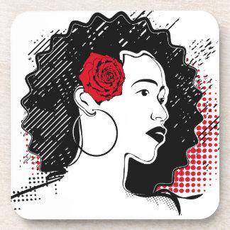 Pretty Girl Beverage Coaster