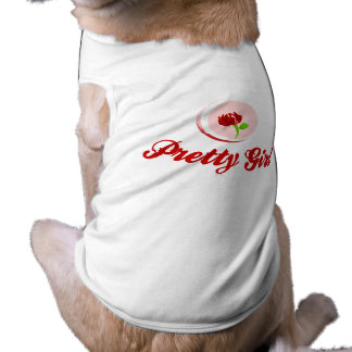 Pretty Girl Dog Costume T-Shirt