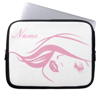 """Pretty Girl"" Laptop Sleeve"