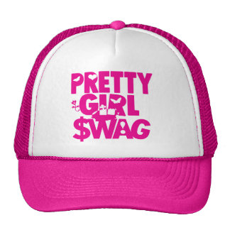 pretty girl swag! trucker hat