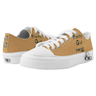 Pretty Girl Swag Zipz Low Top Shoes, US Women 9