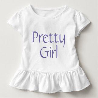 Pretty Girl Toddler Ruffle Tee