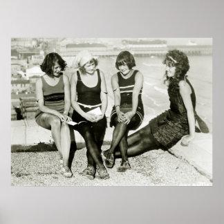Pretty Girls, 1920s Poster