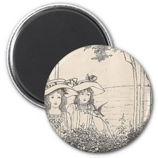 Pretty Girls In The Woods Magnet