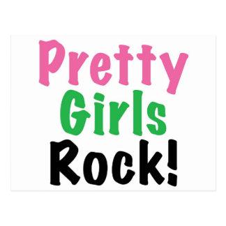 Pretty Girls Rock! Postcard