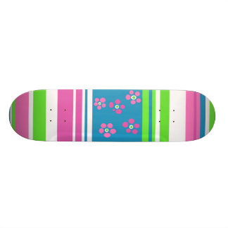 Pretty Girls Skateboard 1 by Hannah