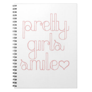 Pretty Girls Smile Statement Notebook