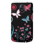 Pretty Girly Butterflies Flowers Pink Blue Pastel Galaxy Nexus Covers