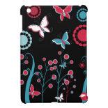 Pretty Girly Butterflies Flowers Pink Blue Pastel iPad Mini Covers