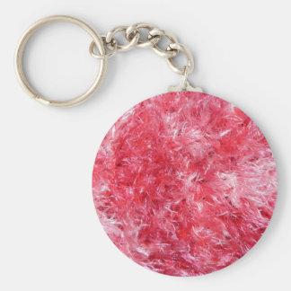 Pretty Girly Fuzzy Fluffy Keychain
