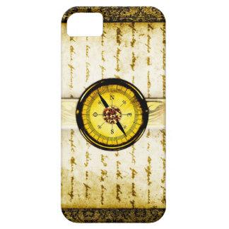 Pretty Gold Ancient Tome Fantasy Scrapbook iPhone 5 Cover