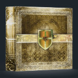"Pretty Gold Fantasy Ancient Tome Binder<br><div class=""desc"">.</div>"