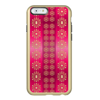 Pretty Gold Stars Moon Pink Fuchsia Stripe Pattern Incipio Feather® Shine iPhone 6 Case