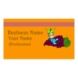 Pretty gordito genie Double-Sided standard business cards (Pack of 100)