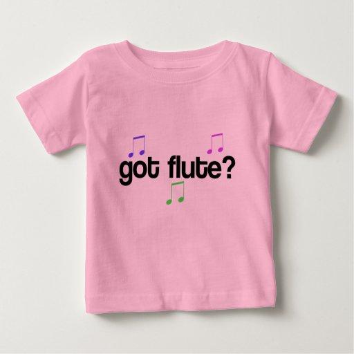 Pretty Got Flute Baby Tee Shirt