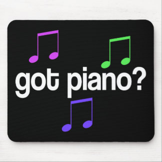 Pretty Got Piano Musical Gift Mouse Pad