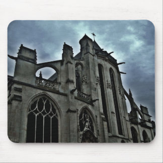 Pretty gothic cathedral mouse pad