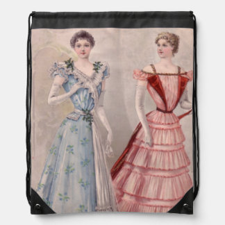 Pretty Gowns Tiny Waists Cinch Bags