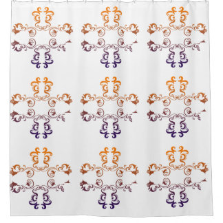 Pretty Grahics Shower Curtain, None Shower Curtain