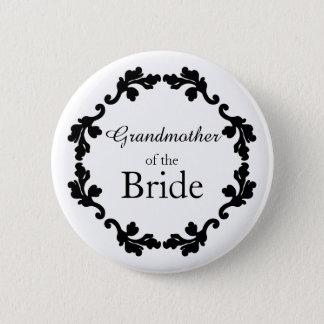 Pretty Grandmother of the Bride Button